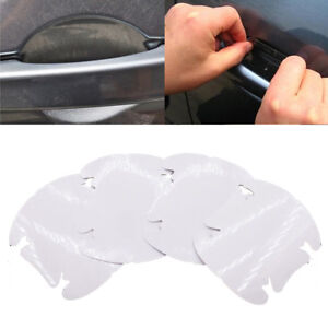 4x Car Door Handle  Clear Invisible Paint Scratch Protector Guard Film Sheet