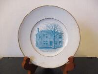 Circa 1905 Souvenir Dish Madison County Clerks Building Morrisville New York #