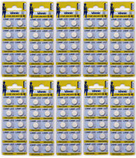 LR44 (100 pack) Vinnic L1154F A76 Coin Cell 1.5V Battery Energizer Replacement