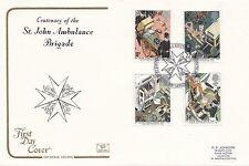 (97321) GB Cotswold FDC St John Ambulance Exhibition London EC1 16 June 1987