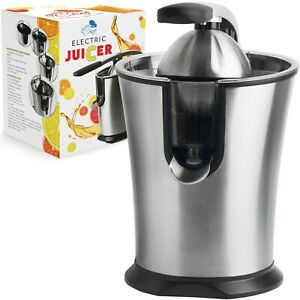 Electric Citrus Juicer Stainless Steel Lemon Lime And Orange Squeezer Maker