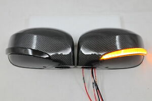NEW LED Sequential Mirror Light+ Cover,Turn Light DRL Fit 2009~2016 GTR R35