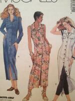 McCalls Sewing Pattern 6982 Ladies Misses Dress Size 10-14 Uncut OOP