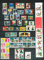 U.S. CHRISTMAS SEALS 61 All Diff. MNH F/VF 1930//1982 All Scott Listed to 1974*