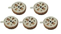 """Round Cork Float Replacements for Orthodox Oil Lamps - Made in Greece 1.2"""" 3cm"""