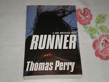 RUNNER by THOMAS PERRY    *SIGNED*  -ARC-     -JA