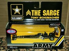 NEW 2016 Tony Schumacher ARMY NHRA Top Fuel Dragster 1/64 Don Schumacher Racing