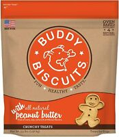 Buddy Biscuits Oven Baked Healthy Dog Treats, Crunchy, Whole Grain And Baked In