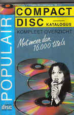 Compact Disc Katalogus 1988 music book