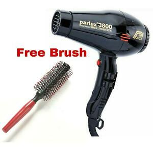 Parlux 3800 Eco Friendly Professional Hairdryer for Hairdressers Barbers Salon