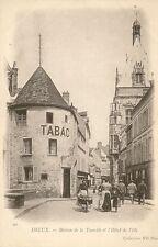 CARTE POSTALE BUREAU DE TABAC DREUX MAISON DE LA TOURELLE ET L'HOTEL DE VILLE