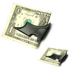 Men Black Bat Style Magnetic Sucker Money Clip Folding Card Cash Holder Wallet