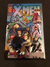 X-Men Alpha #1 KEY SS Signed Scott Lobdell Holo 1st appearance of Dark Beast 😎