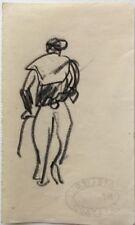 René Seyssaud (1867-1952) Portrait -P17V-