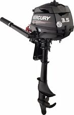 "NEW Mercury 3.5 HP Outboard 4 Stroke 15"" Shaft"