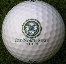 New Logo Golf Ball -  Old North State Club , N C -  1992  /  Private - Tom Fazio