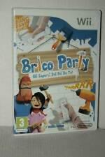 BRICO PARTY GLI ESPERTI DEL FAI DA TE USATO NINTENDO Wii ED ITA PAL ML3 53142