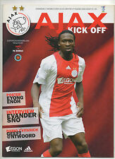 Orig.PRG    UEFA Cup  2008/09  AJAX AMSTERDAM - FK BORAC CACAK  !!  SELTEN
