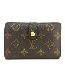 Auth Louis Vuitton Monogram Porte Monnaie Billets Viennois Bifold Wallet /ee588