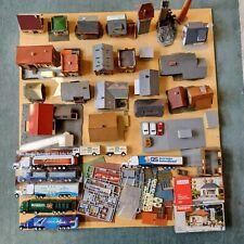 H0 Modelleisenbahn Gebäude, Häuser, Vollmer Faller Kibri usw. Konvolut