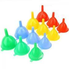 3pcs  Oil Lab Water Kitchen Tool Liquid Funnel Filter Plastic