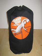 Vintage Duffle Bag Mennen Speed Stick Advertising Promo Black Canvas Rare New
