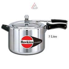 Hawkins - Classic Aluminium 5 Litre Pressure Cooker CL50 - 2.37 KG