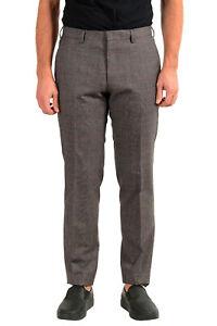 """Hugo Boss Men's """"Genius5"""" Slim Fit 100% Wool Dress Pants US 32R IT 48R"""