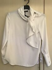Marks And Spencer Ladies Long Sleeve Shirt Size 8