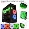 15 LED Light Quite 120mm DC 12V 4Pin PC Computer Case Well Cooling Fan Mod