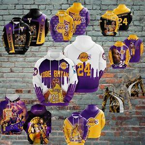 KOBE BRYANT - Los Angeles Lakers - Basketball NBA - All over printed Hoodie