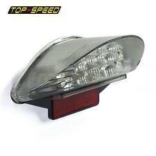 Motorcycle 16 LED Tail Light Clear Lens Reflector For BMW F650 F800 R1200 12V