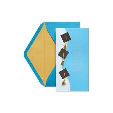 Papyrus Graduation Card  money enclosure - Tassels & Ralph Waldo Emerson Quote