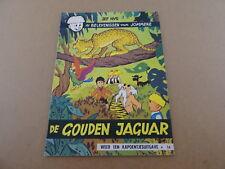 STRIP / JOMMEKE 16: DE GOUDEN JAGUAR | Herdruk 1969