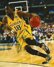 TIM HARDAWAY JR signed MICHIGAN WOLVERINES 8X10 PHOTO COA