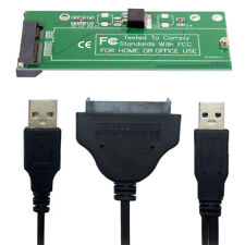 USA SATA Adapter  & USB 3.0 CableFor ASUS EP121 UX21 UX31  ADATA XM11