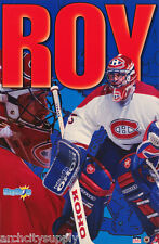 POSTER - NHL HOCKEY - PATRICK ROY - MONTREAL CANADIANS - FREE SHIPPING ! RW13 Q