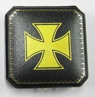 German Prussia Iron Cross Knight Case Award Class War Medal Army Kaiser Badge IC