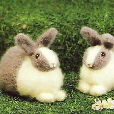 easter rabbits dk  knitting pattern 99p