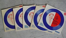Lot of 5 Vintage 1969 33 1/3 Promo Records Burger King Pledge of Allegiance