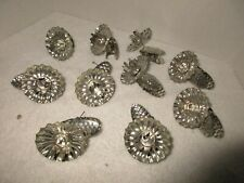 Vintage Metal Christmas Tree Candle Holders Holiday Decorations