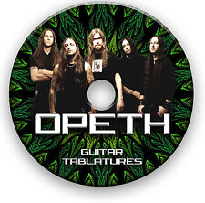 OPETH ROCK METAL GUITAR TAB TABLATURE SONG BOOK ANTHOLOGY SOFTWARE LIBRARY CD
