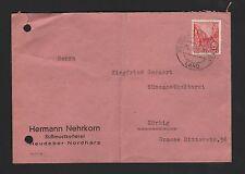 HEUDEBER, Briefumschlag 1967, Hermann Nehrkorn Süßmost-Kelterei