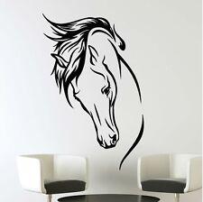 Pferde Kopf Horse Wallsticker Wallpaper Wand Schmuck 44 x 69 cm Wandtattoo