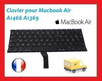 "CLAVIER FRANCAIS FR AZERTY MACBOOK AIR 13"" A1466 2012 2013 2014 2015 2017"