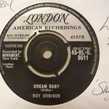 "Roy Orbison(7"" Vinyl 1st Issue)Dream Baby / The Actress-Ex/VG+"