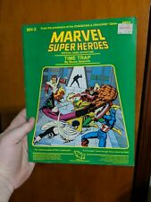 MARVEL SUPER HEROES TIME TRAP MH-2 6853 TSR RPG BOOK