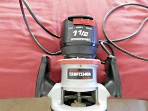 CRAFTSMAN-SEARS ROUTER Model 315.174921 - 1 1/2 Horsepower - AS IS