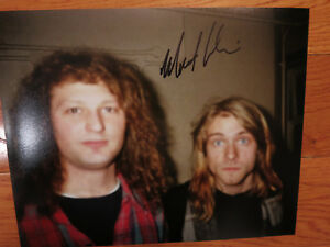 Matt Lukin signed photo coa Proof! Mudhoney autographed 8x10 Kurt Cobain Nirvana