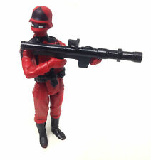 "Vintage 80's Palitoy GI JOE ACTION FORCE Red Shadow 3.75"" figure RARE NO LOGO"
